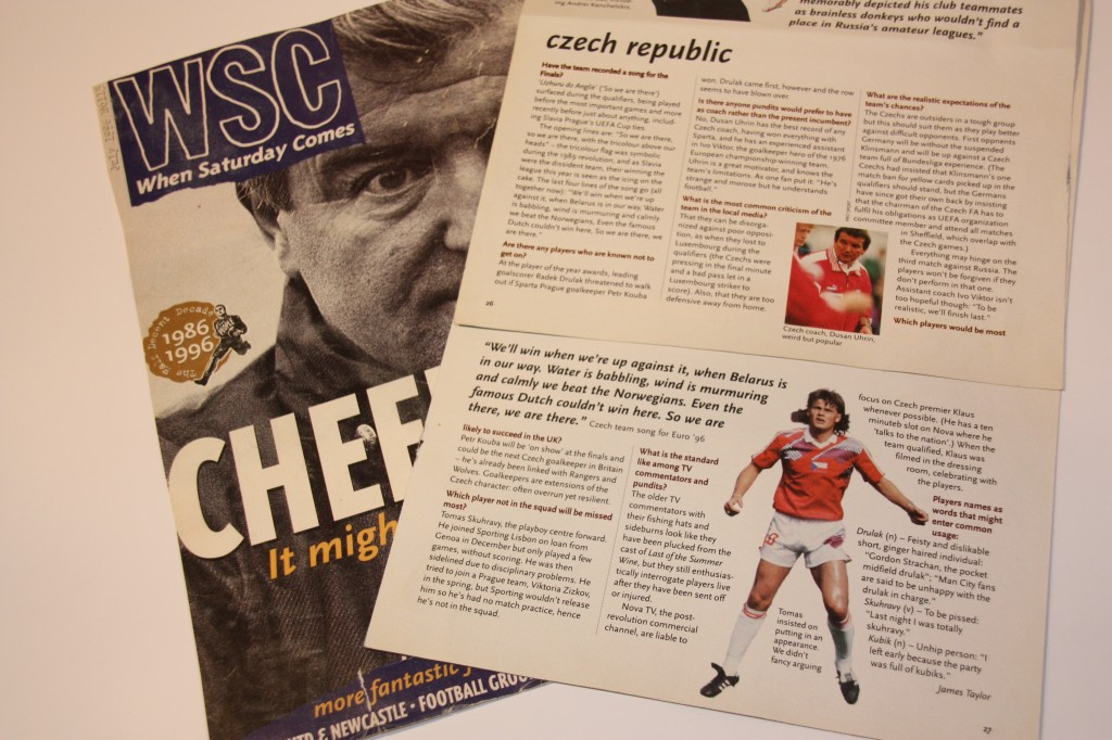 When Saturday Comes (WSC) Euro 96 preview